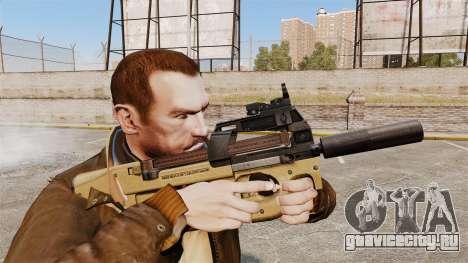 Бельгийский пистолет-пулемёт FN P90 v4 для GTA 4