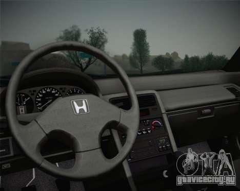 Honda CR-X 1991 для GTA San Andreas вид сзади