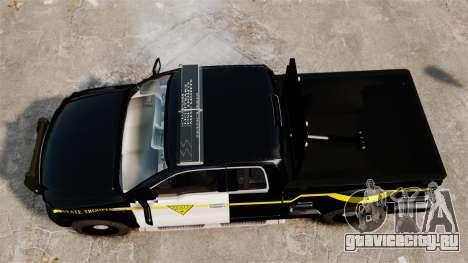 Ford F-150 v3.3 State Trooper [ELS & EPM] v1 для GTA 4 вид справа