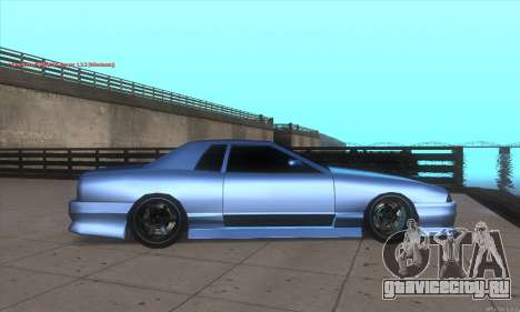 Elegy awesome D.edition для GTA San Andreas вид слева