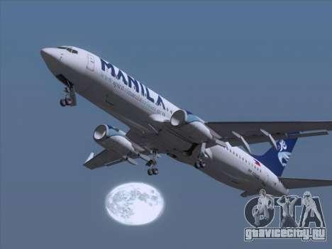 Boeing 737-800 Spirit of Manila Airlines для GTA San Andreas салон
