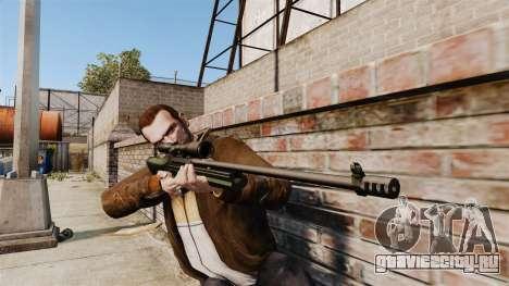 Снайперская винтовка Sako TRG-42 для GTA 4 третий скриншот