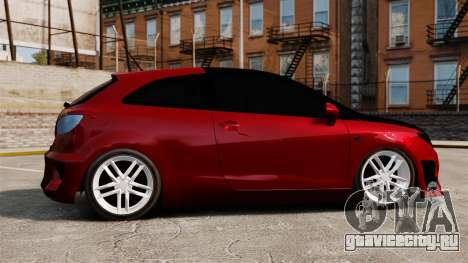 SEAT Ibiza для GTA 4 вид слева
