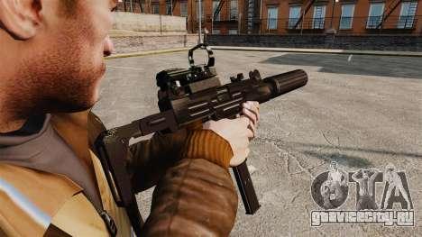 Тактическая узи v2 для GTA 4 второй скриншот