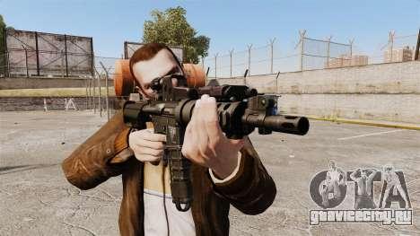 Тактическая M4 v2 для GTA 4 третий скриншот