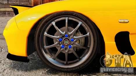 Mazda RX-7 FD3S для GTA 4 вид сзади
