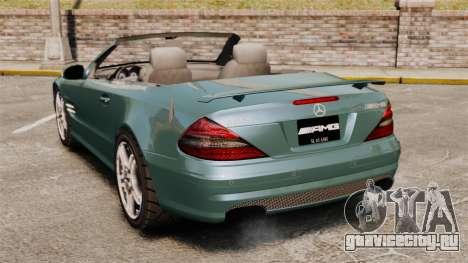 Mercedes-Benz SL65 2007 AMG v1.2 для GTA 4 вид сзади слева
