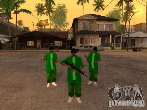 Новый скин Groove st. для GTA San Andreas второй скриншот