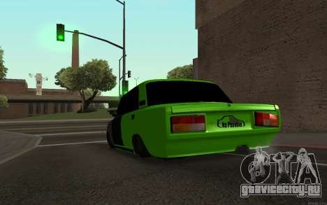 ВАЗ 2105 Бродяга для GTA San Andreas вид сзади слева