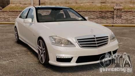 Mercedes-Benz S65 W221 AMG Stock v1.2 для GTA 4