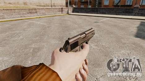 Самозарядный пистолет Walther PPK v2 для GTA 4 второй скриншот