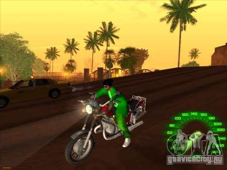 Новый скин Groove st. для GTA San Andreas четвёртый скриншот