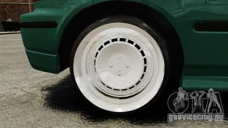 Honda Civic Al Sana для GTA 4 вид сзади