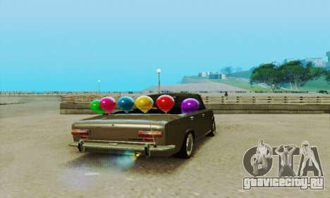 ВАЗ 2101 Кабриолет для GTA San Andreas вид сзади
