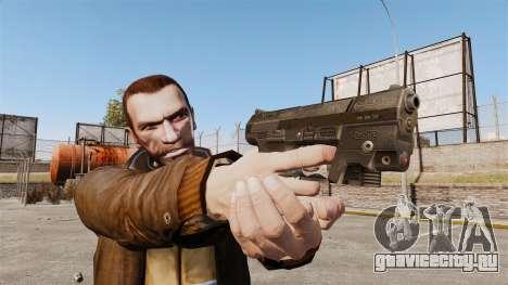 Самозарядный пистолет Walther P99 v1 для GTA 4 третий скриншот