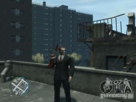 Thompson для GTA 4 третий скриншот