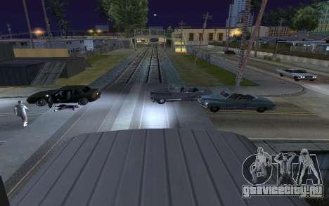 Train light для GTA San Andreas второй скриншот