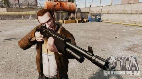 Автоматическое тактическое ружьё SPAS 12 для GTA 4 третий скриншот