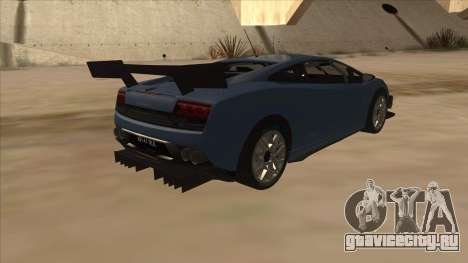 Lamborghini Gallardo LP560-4 Tuned для GTA San Andreas вид справа