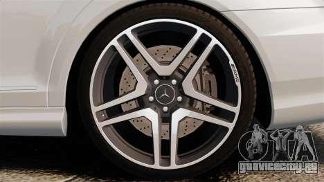 Mercedes-Benz S65 W221 AMG Stock v1.2 для GTA 4 вид справа