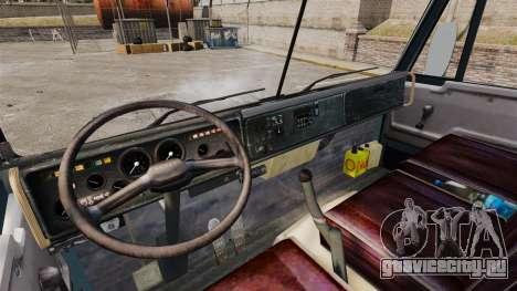 КамАЗ-53212 v1.4 для GTA 4 вид изнутри