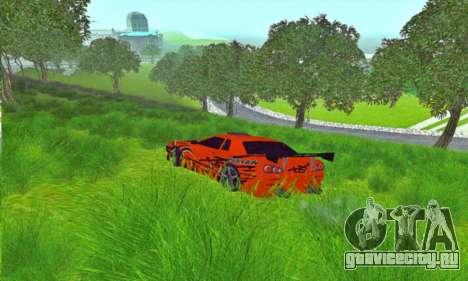 Elegy Sport для GTA San Andreas вид слева