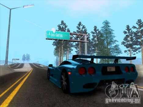 Mosler MT900S 2010 V1.0 для GTA San Andreas вид справа