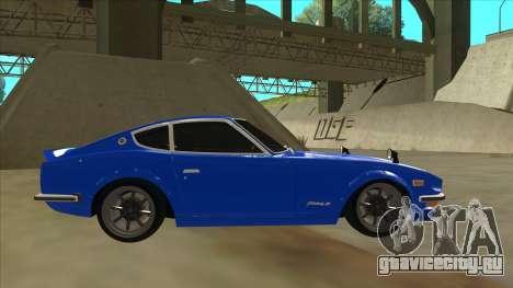 Nissan Wangan Midnight Devil Z S30 для GTA San Andreas вид сзади слева