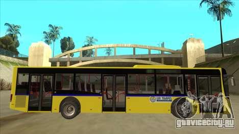Bus Line 88 Novi Zeleznik для GTA San Andreas вид сзади слева