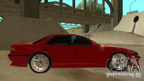 Toyota Chaser JZX81 Touge Style для GTA San Andreas вид сзади слева