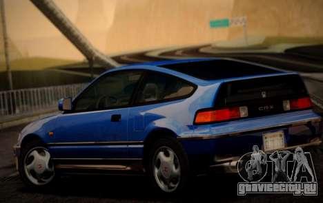 Honda CR-X 1991 для GTA San Andreas вид слева
