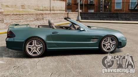 Mercedes-Benz SL65 2007 AMG v1.2 для GTA 4 вид слева