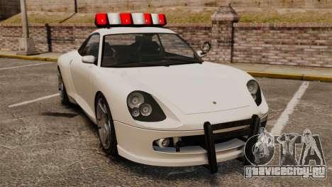 Полицейский Comet для GTA 4
