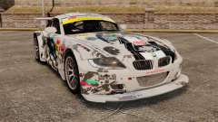 BMW Z4 M Coupe GT Black Rock Shooter для GTA 4