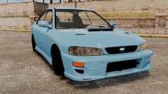 Subaru Impreza WRX STI 5 Domestic Drifter 1999 для GTA 4