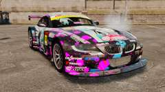BMW Z4 M Coupe GT Miku для GTA 4