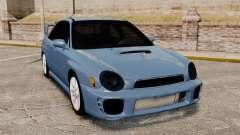 Subaru Impreza WRX 2001 для GTA 4