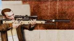 Снайперская винтовка AW L115A1 с глушителем v9