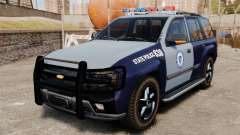 Chevrolet Trailblazer 2002 Massachusetts Police
