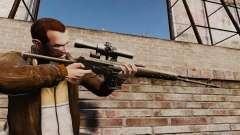 Снайперская винтовка Драгунова v1 для GTA 4
