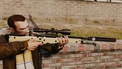 Снайперская винтовка AW L115A1 с глушителем v2