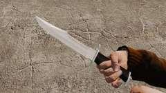 Нож The Alabama Slammer хромированный