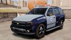 Chevrolet Trailblazer 2002 Massachusetts Police