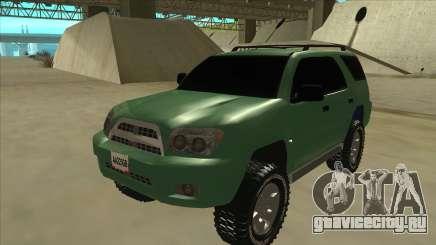 Toyota 4Runner 2009 v2 для GTA San Andreas