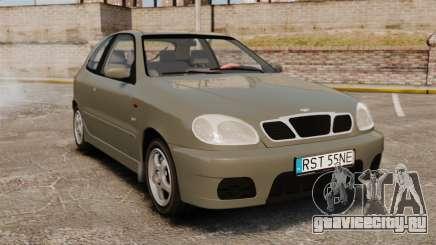 Daewoo Lanos Sport PL 2000 для GTA 4