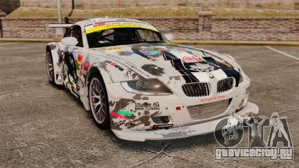 BMW Z4 M Coupe GT Black Rock Shooter для GTA 4