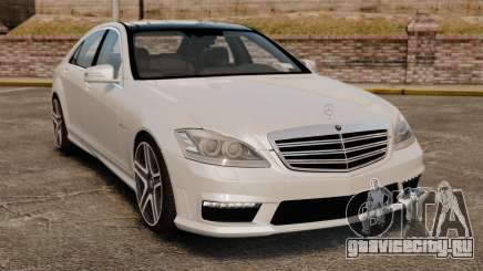 Mercedes-Benz S65 W221 AMG Stock v1.2 для GTA 4