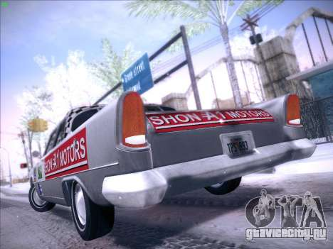 HD Bloodring Banger для GTA San Andreas вид сзади слева