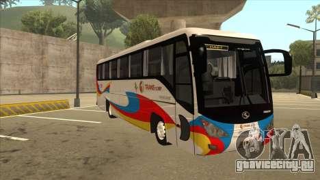 Kinglong XMQ6126Y - GL Trans 559 для GTA San Andreas вид слева
