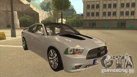 Dodge Charger RT Daytona 2011 V1.0 для GTA San Andreas вид слева